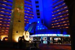 Das Luxor-Hotel u. das Kasino 47 stockbild