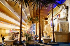 Das Luxor-Hotel u. das Kasino 18 stockfotos