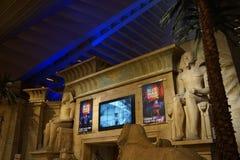 Das Luxor-Hotel u. das Kasino 14 lizenzfreies stockfoto