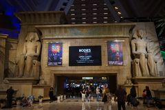 Das Luxor-Hotel u. das Kasino 10 lizenzfreies stockbild