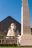 Das Luxor-Hotel und -kasino lizenzfreie stockfotos