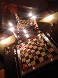 Das luzes xadrez para fora fotografia de stock royalty free