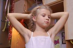 Das Mädchen Lizenzfreies Stockfoto
