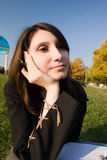 Das Mädchen Lizenzfreie Stockfotos