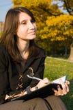 Das Mädchen Lizenzfreie Stockfotografie