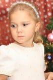 Das Mädchen in Cristmas Lizenzfreie Stockfotografie