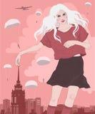 Das Mädchen der Riesin, Stockbilder