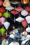 Das Mädchen im Vietnam-Markt Lizenzfreie Stockfotos