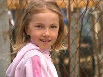 Das Mädchen mit Freckles stockbilder
