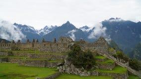 Das Machu Picchu, Peru stockbild