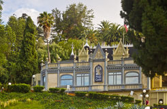 Das magische Schloss in Hollywood, Kalifornien stockbild