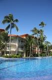 Das majestätische Fünf-Sternesammelhotel Eleganz Punta Cana Lizenzfreies Stockfoto