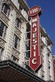 Das majestätische Film-Haus Stockfotos