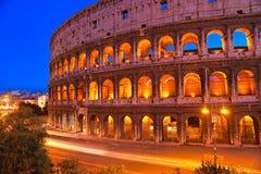 Das majestätische Kolosseum, Rom, Italien. Stockfotografie