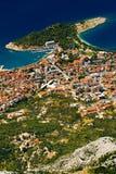 Das Makarska lizenzfreie stockbilder