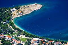 Das Makarska stockbilder