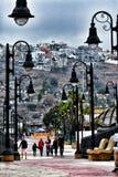 Das Malecon, Ensenada, Mexiko stockbilder