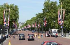 Das Mall London england Lizenzfreie Stockbilder