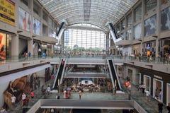 Das Marina Bay Sands-Mall in Singapur Lizenzfreies Stockbild