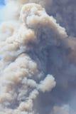 Das Maschinenhaus-Feuer | 2013 | enormer Feder-Rauch Lizenzfreie Stockfotografie