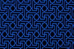 Das Material in geometrische Muster, ein Hintergrund. Lizenzfreie Stockfotos