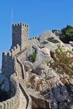 Das maurische Schloss in Portugal Stockbild
