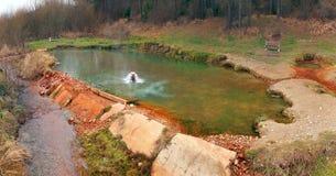 Das Medokys, Naturdenkmal, Kalameny Stockfotos