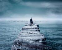 In das Meer Lizenzfreie Stockfotos