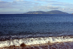 Das Meer, Berge, der Himmel - aller für guten Rest Lizenzfreie Stockbilder