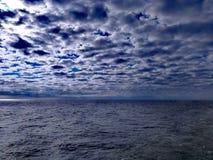 Das Meer der Wolken lizenzfreie stockbilder