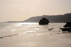 Das Meer am frühen Morgen Lizenzfreie Stockfotografie