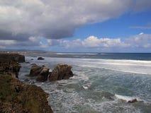 Das Meer und der Strand Lizenzfreies Stockbild