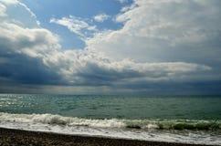 Das Meer und der Strand Stockbild