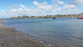 Das Meer und die Boote Lizenzfreies Stockfoto