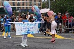Das Meerjungfrau-Parade-Teil 2015 5 44 Lizenzfreie Stockfotografie