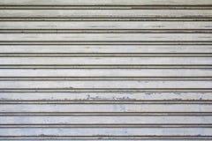 Das metallische Mustergatter Lizenzfreies Stockbild