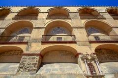 Das Mezquita-Spanisch für Moschee von Cordoba in Andalusien, Spanien lizenzfreie stockfotos