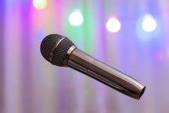 Das Mikrofon Lizenzfreie Stockfotos