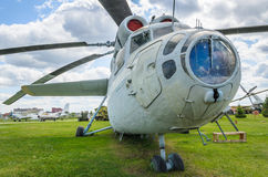 Das Mil MI-6, russischer schwerer Transporthubschrauber stockbilder