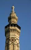 Das Minarett von Qaitbay Stockbild