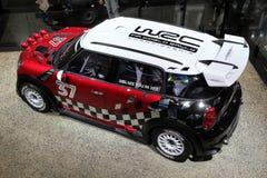 Das Mini Cooper 2011 WRC Lizenzfreies Stockbild
