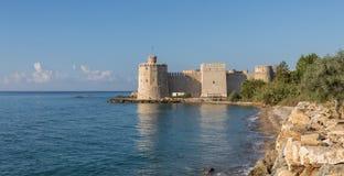 Das mittelalterliche Namure-Schloss, die Türkei stockbilder