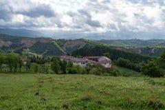 Das mittelalterliche orthodoxe Kloster von Rozhen, nahe Melnik, lizenzfreies stockfoto