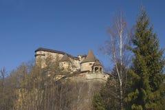 Das mittelalterliche Schloss Stockfotos