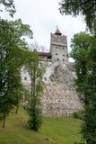 Das mittelalterliche Schloss von Kleie Lizenzfreie Stockfotos