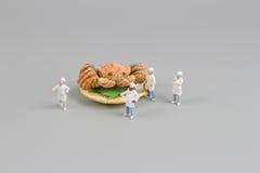 das Modell der Chefzahl von Hokkaido-Krabbe Stockfoto