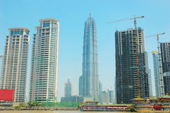 Das moderne Gebäude Stockbilder