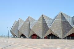 Das moderne Gebäude der Konzertmitte Stockfoto