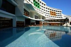 Das moderne Hotel in der Türkei. Stockbild