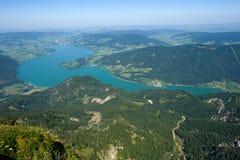 Das Mondsee in Österreich Lizenzfreies Stockfoto